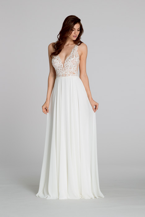 Style 2557 gown from the 2015 Tara Keely by Lazaro collection, as seen on dressfinder.ca