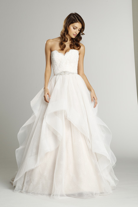 9551 Wedding                                          dress by Alvina Valenta