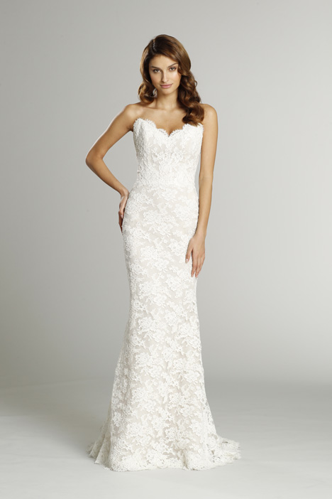 9553 Wedding                                          dress by Alvina Valenta