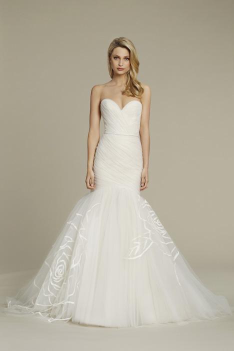 8551 Wedding                                          dress by Jim Hjelm