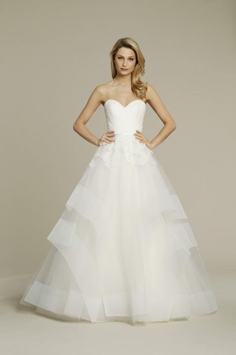 8554 Wedding                                          dress by Jim Hjelm