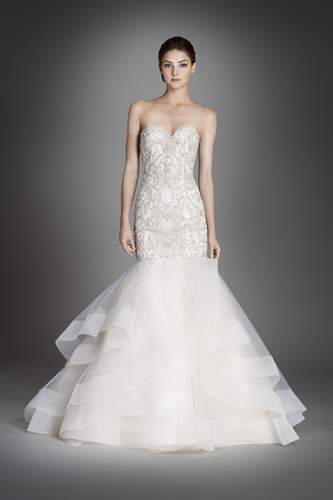 3553 Wedding                                          dress by Lazaro