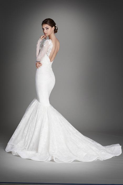 3560 (2) Wedding                                          dress by Lazaro