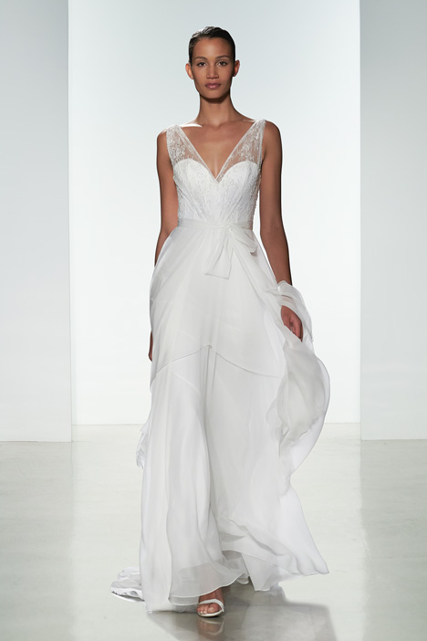Agatha Wedding                                          dress by Christos
