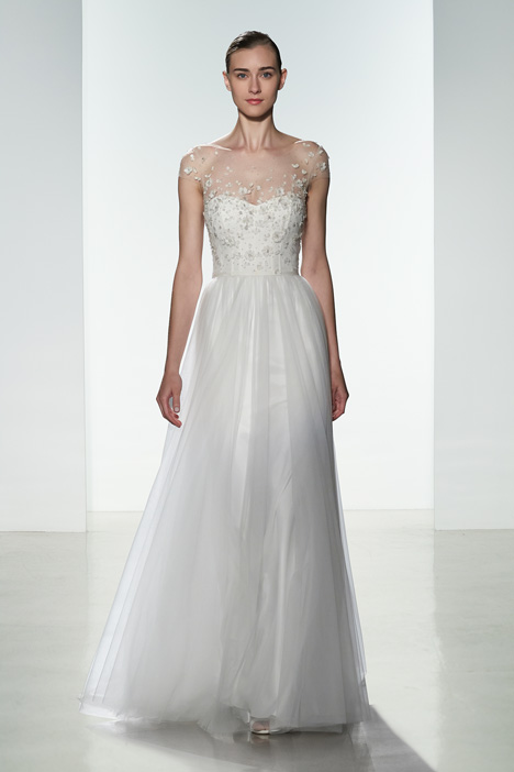 Hayden Wedding                                          dress by Christos