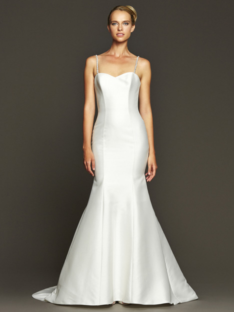 Taylor Wedding                                          dress by Badgley Mischka Collection