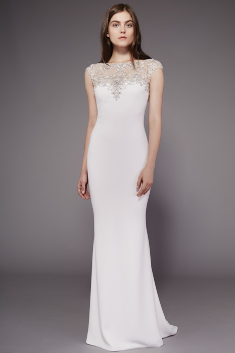 Eleanor Wedding                                          dress by Badgley Mischka Collection