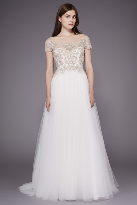 Dolores Wedding                                          dress by Badgley Mischka Collection