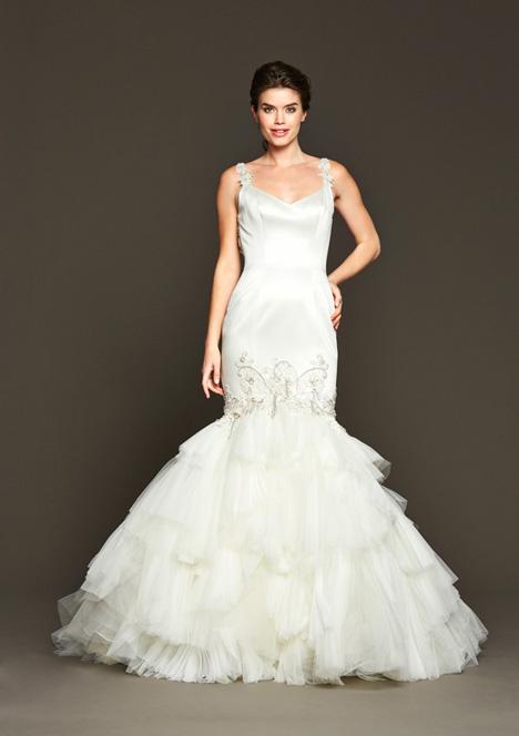 Bergman Wedding                                          dress by Badgley Mischka Bride
