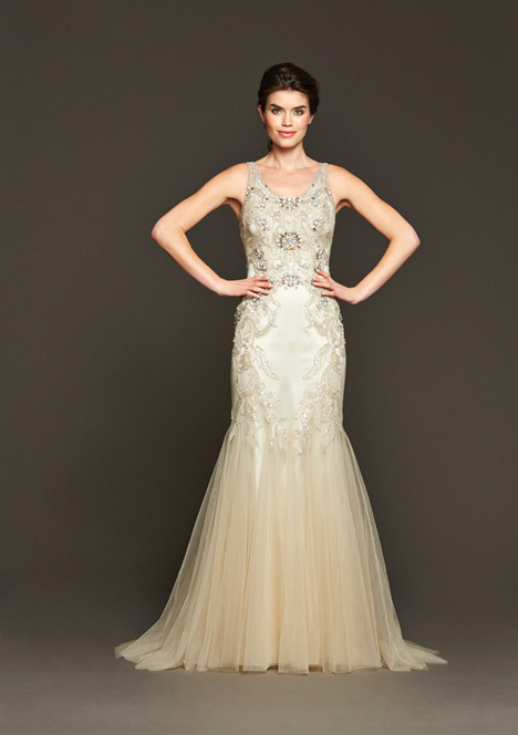 Burke gown from the 2015 Badgley Mischka Bride collection, as seen on dressfinder.ca