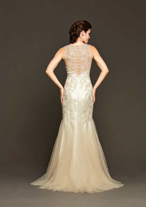 Burke (2) gown from the 2015 Badgley Mischka Bride collection, as seen on dressfinder.ca