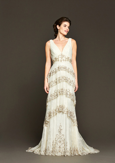 Dunaway gown from the 2015 Badgley Mischka Bride collection, as seen on dressfinder.ca