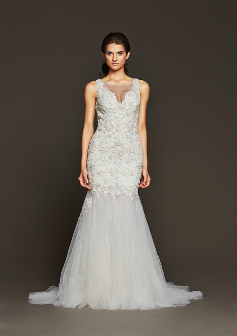 Garland gown from the 2015 Badgley Mischka Bride collection, as seen on dressfinder.ca