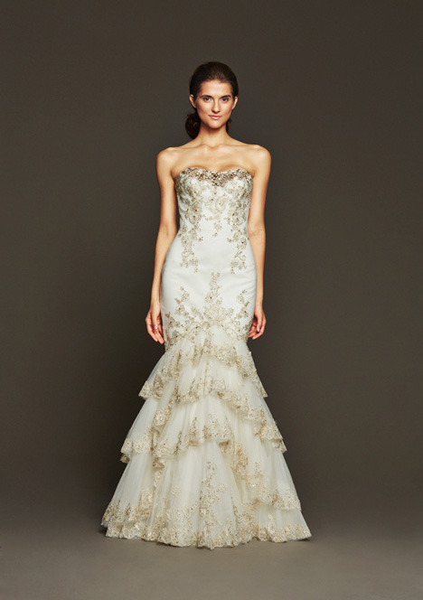 Loren gown from the 2015 Badgley Mischka Bride collection, as seen on dressfinder.ca