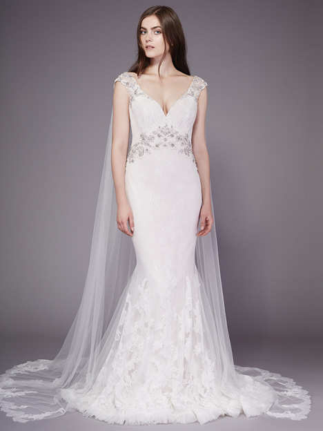 Lizzy gown from the 2016 Badgley Mischka Bride collection, as seen on dressfinder.ca