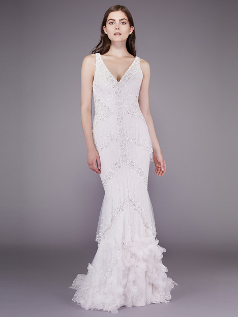 Julie gown from the 2016 Badgley Mischka Bride collection, as seen on dressfinder.ca
