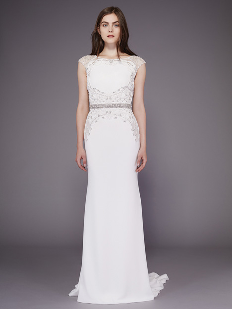 Colleen gown from the 2016 Badgley Mischka Bride collection, as seen on dressfinder.ca