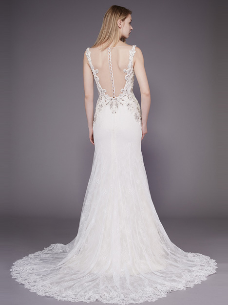Claudia (2) Wedding dress by Badgley Mischka Bride