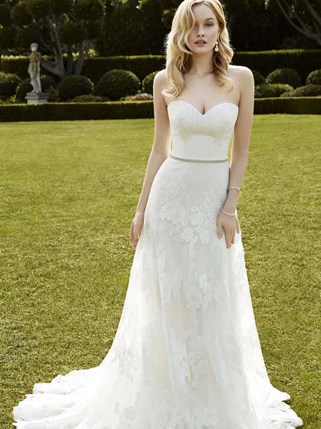 Inga Wedding                                          dress by Enzoani : Blue