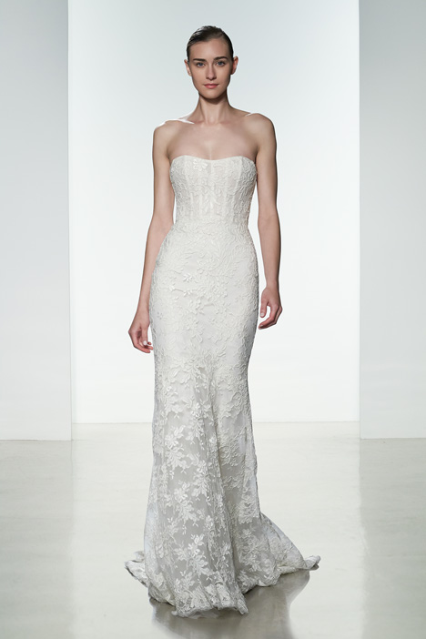 Amber Wedding                                          dress by Amsale
