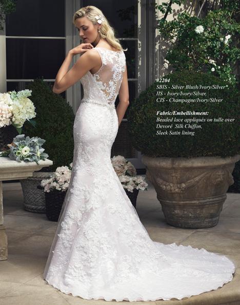 2204 (2) Wedding dress by Casablanca Bridal