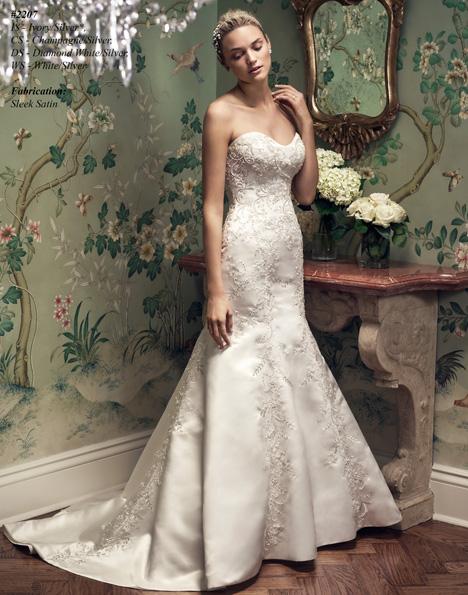 2207 Wedding                                          dress by Casablanca Bridal