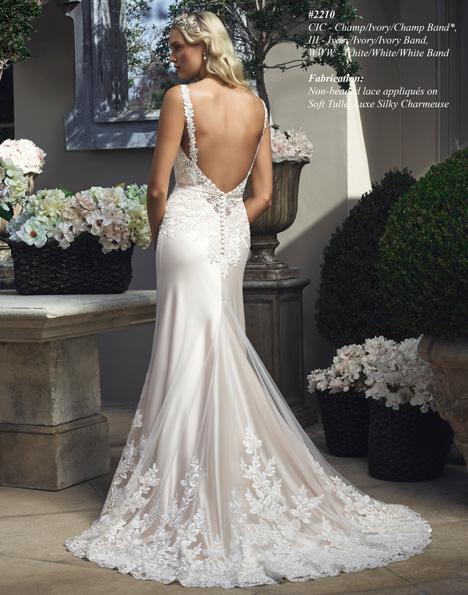 2210 (2) Wedding                                          dress by Casablanca Bridal