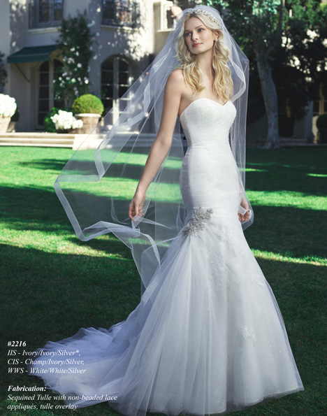 2216 gown from the 2015 Casablanca Bridal collection, as seen on dressfinder.ca