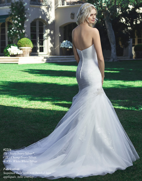2216 (2) gown from the 2015 Casablanca Bridal collection, as seen on dressfinder.ca