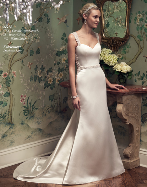 2218 Wedding dress by Casablanca Bridal