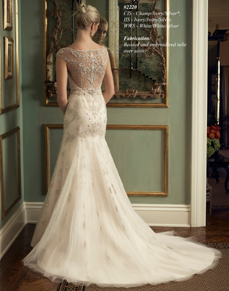 2220 (2) Wedding                                          dress by Casablanca Bridal