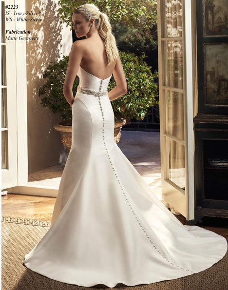 2223 (2) Wedding                                          dress by Casablanca Bridal