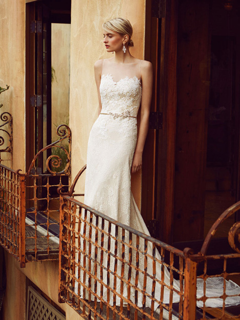 BT16-22 gown from the 2015 Enzoani Beautiful Bridal collection, as seen on dressfinder.ca