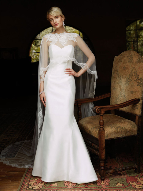 BT16-29 + Capelet Wedding                                          dress by Enzoani : Beautiful