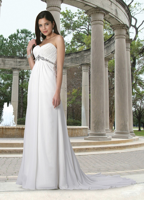 50056 Wedding                                          dress by DaVinci