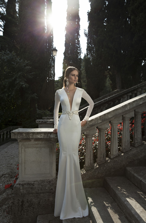 Style 14-18 gown from the 2014 Berta Bridal collection, as seen on dressfinder.ca