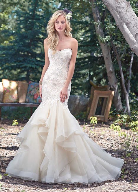 Malina Wedding                                          dress by Maggie Sottero