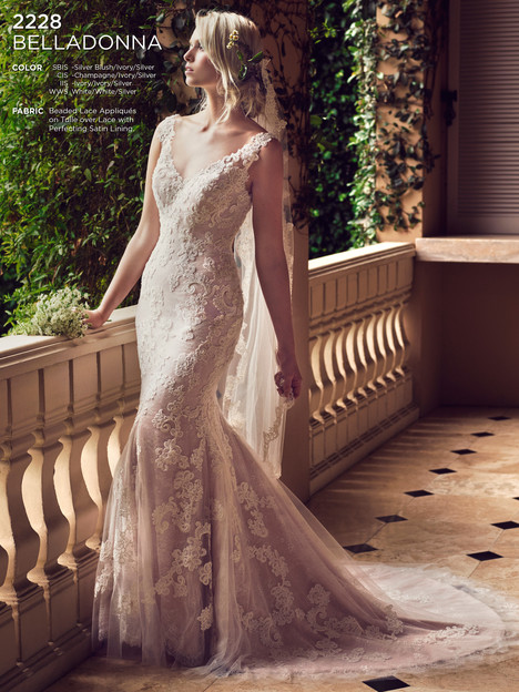 Belladonna gown from the 2016 Casablanca Bridal collection, as seen on dressfinder.ca