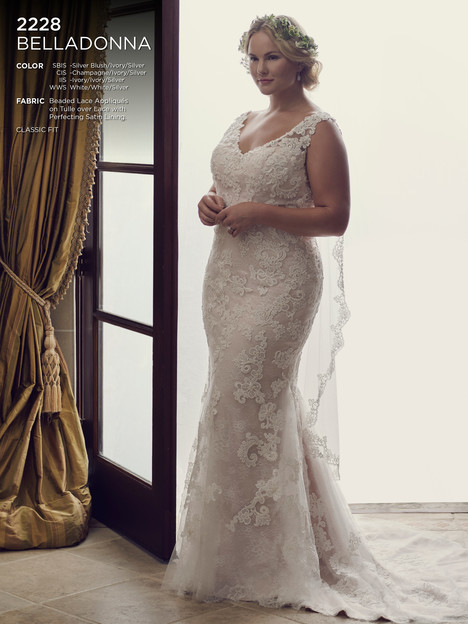 Belladonna (Classic) gown from the 2016 Casablanca Bridal collection, as seen on dressfinder.ca