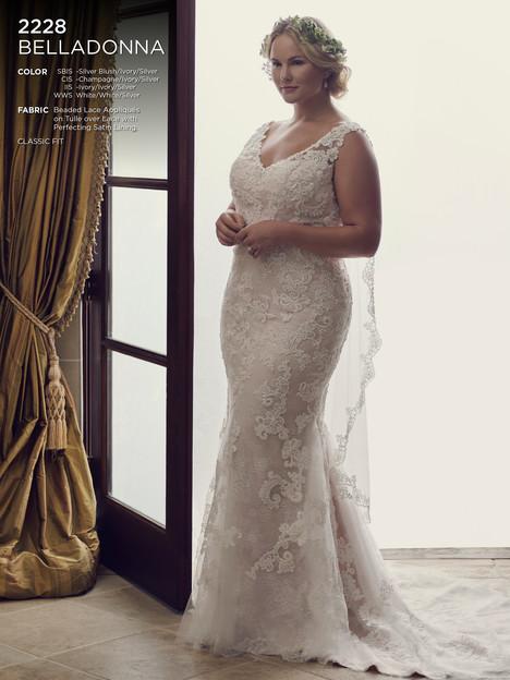 Belladonna (Classic) Wedding                                          dress by Casablanca Bridal