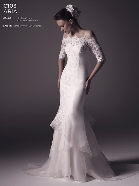 Aria Wedding                                          dress by Amare