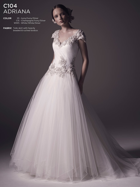 Adriana Wedding                                          dress by Amare