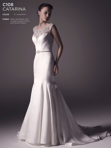 Catarina Wedding                                          dress by Amare