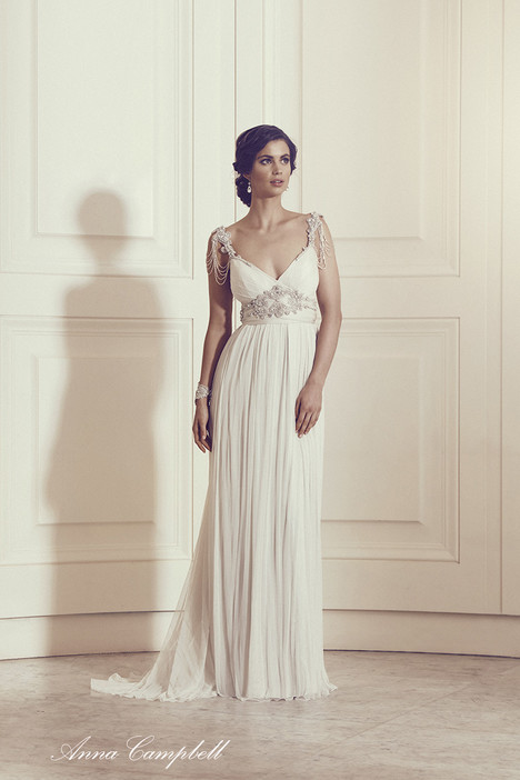 Amy Wedding                                          dress by Anna Campbell
