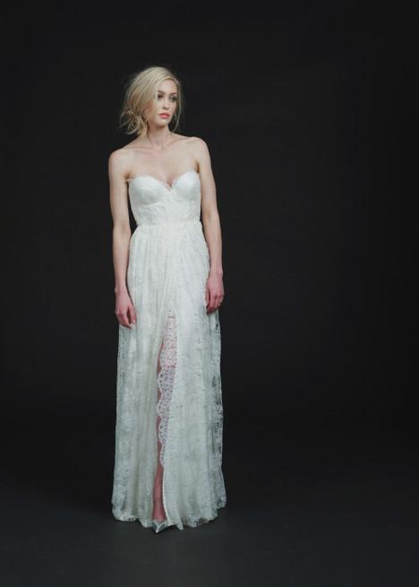 Bedford Wedding                                          dress by Sarah Seven