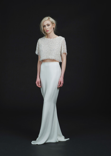 Delancey Top + Utopia Skirt Wedding                                          dress by Sarah Seven