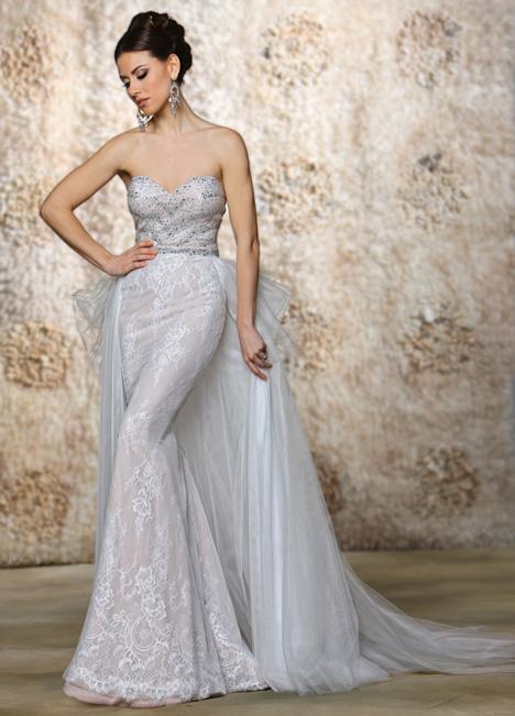 Jada + Overskirt Wedding                                          dress by Cristiano Lucci