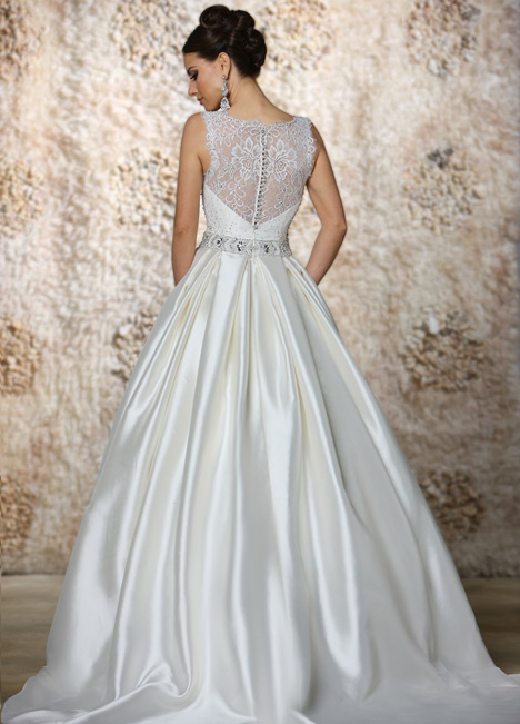 Annette Wedding                                          dress by Cristiano Lucci