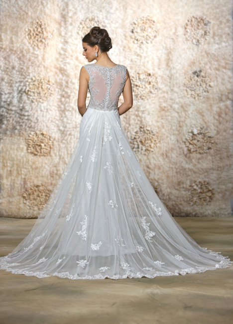 Angelina + Train (2) Wedding                                          dress by Cristiano Lucci