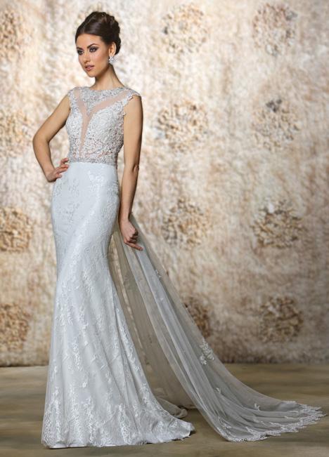 Angelina + Train Wedding                                          dress by Cristiano Lucci